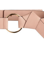 Wide waist belt - Powder - Ladies | H&M CN 2